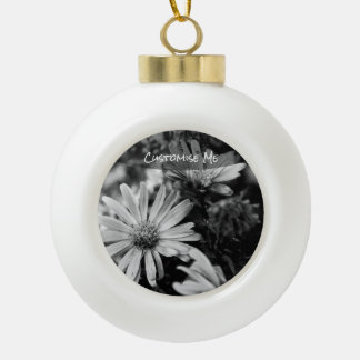 Where Have All The Flowers Gone Ceramic Ball Christmas Ornament