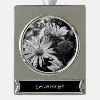 Where Have All The Flowers Gone Silver Plated Banner Ornament