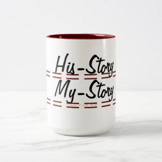 Where I Come From Two-Tone Coffee Mug
