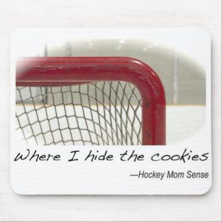 Where I Hide the Cookies Mousepad