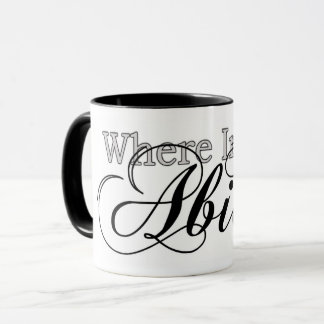 Where Image Abides Mug