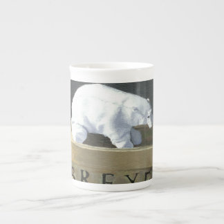 Where is a Polar Bear to Live? II Tea Cup