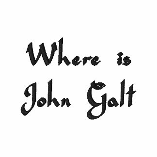 Where is John Galt? Embroidered Shirts