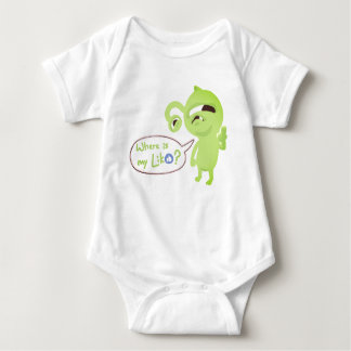 Where is my like? baby bodysuit