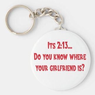 Where is your girlfriend keychain