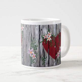 Where Love Grows Large Mug
