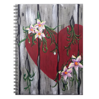 Where Love Grows Spiral Notebook