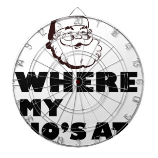 where my Ho's at Dartboard