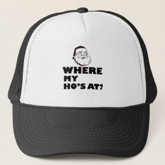 where my Ho's at Trucker Hat
