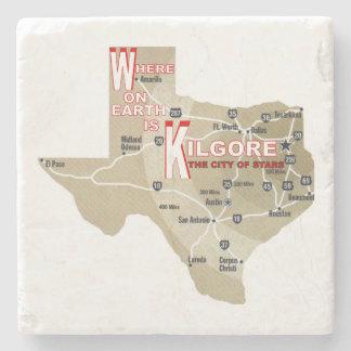 Where on Earth is Kilgore Marble Coaster