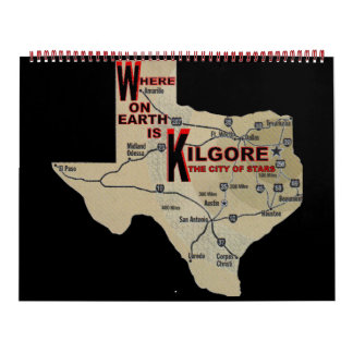 Where on Earth_Kilgore Wall Calendar