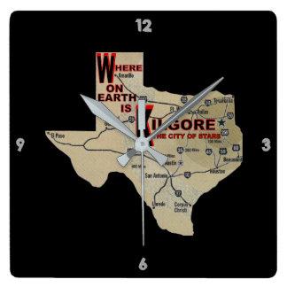 Where On Earth_Kilgore Wall Clock