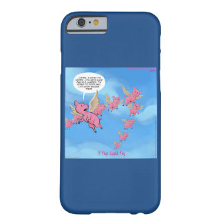 Where Pigs Fly Funny Portland Vegan iPhone Cases