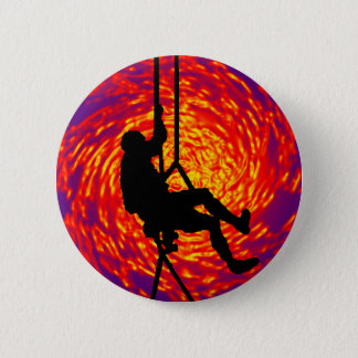 WHERE SOULS CLIMB 6 CM ROUND BADGE