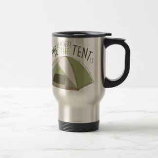 Where Tent Is Travel Mug