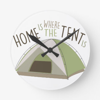 Where Tent Is Wallclocks