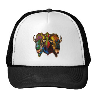 Where the buffalo roam cap
