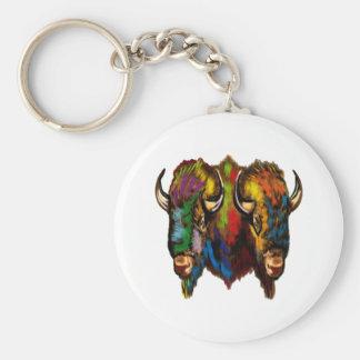 Where the buffalo roam key ring