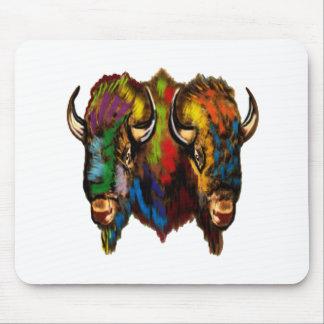 Where the buffalo roam mouse pad
