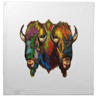 Where the buffalo roam napkin