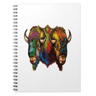 Where the buffalo roam notebooks