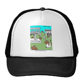 Where The Buffalo Rome Funny Gifts & Tees Cap