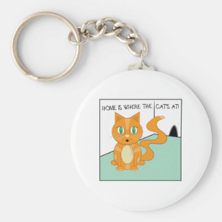 Where The Cats At Keychain