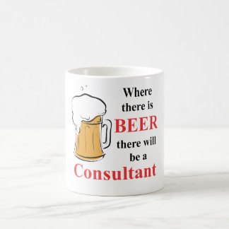 Where there is Beer - Consultant Basic White Mug