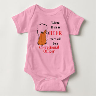 Where there is Beer - Correctional Officer T Shirt