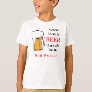 Where there is Beer - Iron Worker Shirt