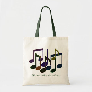 Where there is Music Canvas Bag