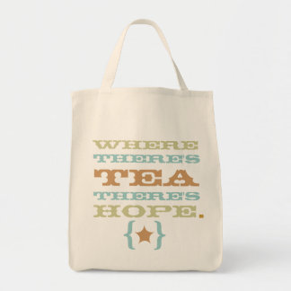 where there's tea there's hope tote TBA