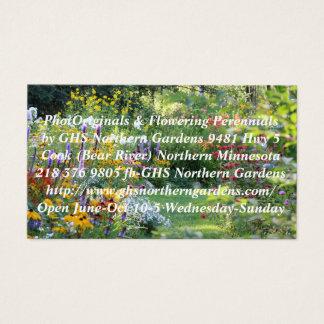 Where Three Gardens Meet Business Card