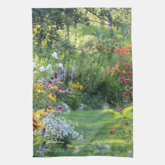 Where Three Gardens Meet Tea Towel