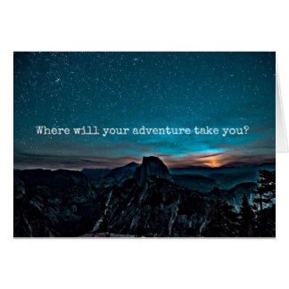 Where will your adventure take you card
