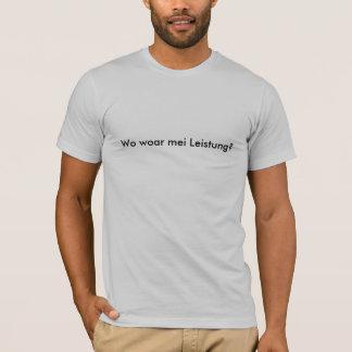 Where woar mei achievement? T-Shirt