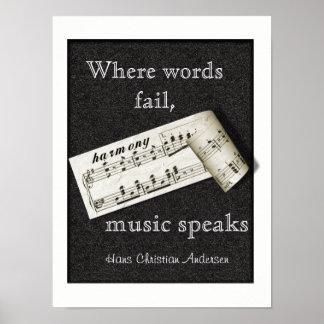 Where Words Fail -- Poster Art