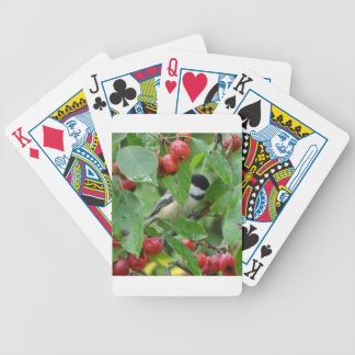 Where's Chickadee? Bicycle Playing Cards