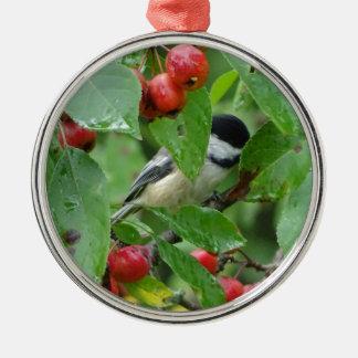 Where's Chickadee? Metal Ornament