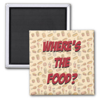 Where's Food Magnet