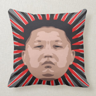 Where's Kim Jong Un? Cushion
