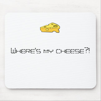 Where's my cheese?! mouse pad