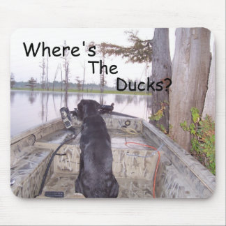 Where's The Ducks? Mouse Pad