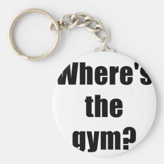 Wheres the Gym Keychains