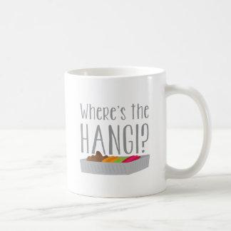 Wheres the HANGI? (New zealand maori feast) Coffee Mug