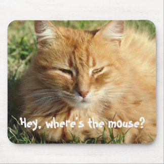 Where's the mouse?. - Mousepad
