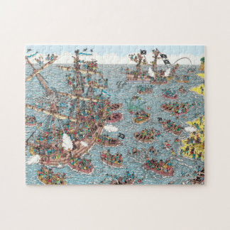 Where's Waldo | Being a Pirate Jigsaw Puzzle