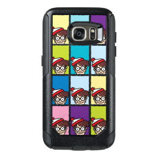 Where's Waldo Colorful Pattern OtterBox Samsung Galaxy S7 Case