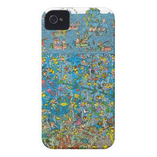 Where's Waldo Deep Sea Divers iPhone 4 Covers