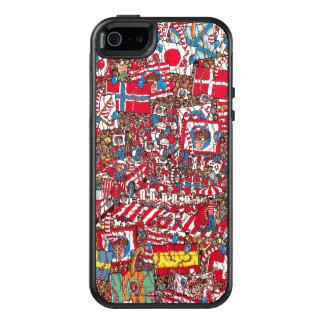 Where's Waldo Enormous Party OtterBox iPhone 5/5s/SE Case